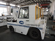 China High Power Airport Tow Tractor , Ground Support Equipment Two Tug Linde Fork company