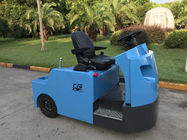 China Blue Electric Tow Tractor , Aircraft Towing Equipment KDS Frequency Conversion factory