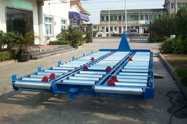 China 3600 kg Blue Cargo Dolly Trailer , Durable Ground Handling Equipment factory