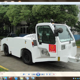 China 27500 Kilogram Aircraft Tow Tractor Reverse 20 Km / H Max Speed Long Life Span factory