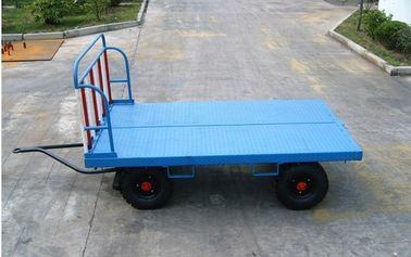 2 Ton Airport Ground Support Equipment Airport Baggage Cart 30 Km / H Speed