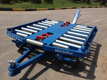 Airport Pallet Dolly , Ground Handling Equipment 76×4 Millimeter Roller