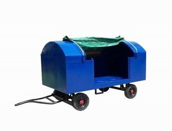 China Multifunction Airport Baggage Cart Solid Tire 280 × 150 cm Platform Dimension factory