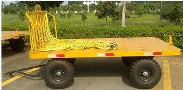 2T Front Rail Vehicle Loading Trolley , Airport Baggage Equipment Easy Operation