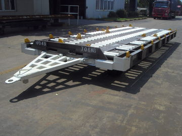 Heavy Duty Airport Luggage Dolly , Practical Cargo Dolly Trailer Easy Operation