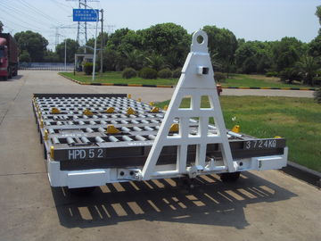 3600 Kg Container Pallet Dolly 520 Millimeter Height High Loading Capacity